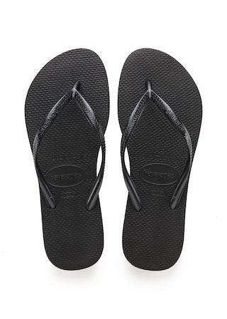 Havaianas Slim Black Damesschoenen Slippers