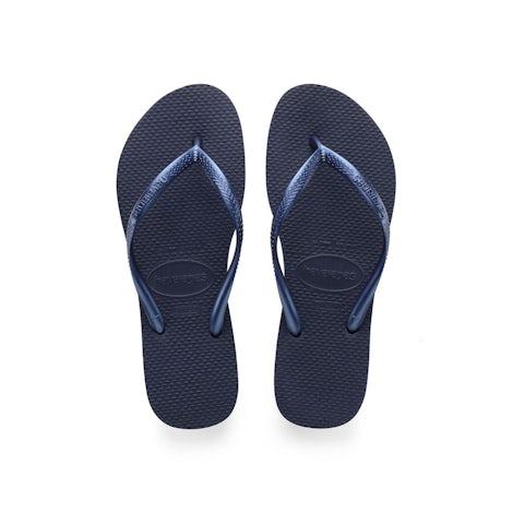 Havaianas Slim Navy Blue Slippers Slippers