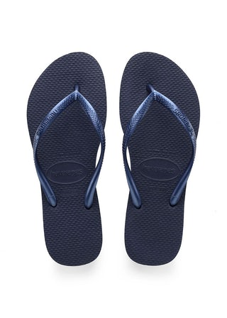 Havaianas Slim Navy Blue Damesschoenen Slippers