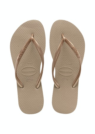 Havaianas Slim Rose Gold Damesschoenen Slippers
