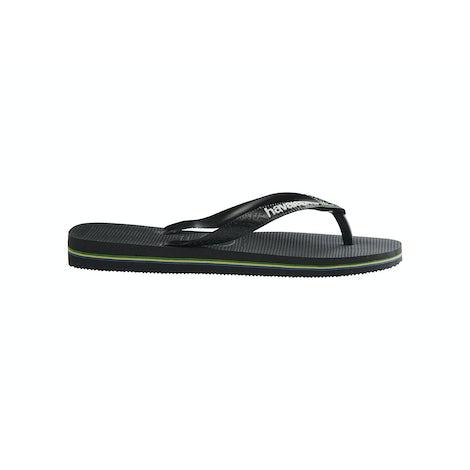 Havaianas Brasil Logo black/black Slippers Slippers