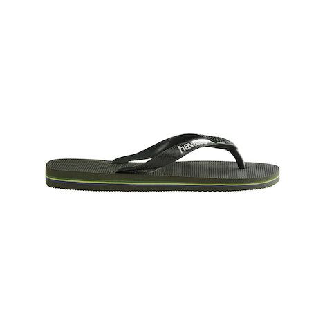 Havaianas Brasil Logo green olive Sandalen en slippers Sandalen en slippers