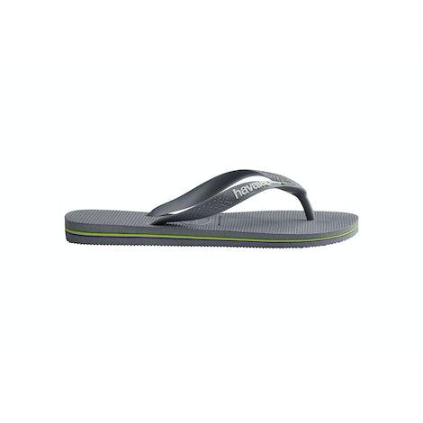 Havaianas Brasil Logo steel grey/ stee Sandalen en slippers Sandalen en slippers
