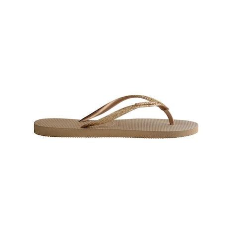 Havaianas Slim Glitter Rose Gold Slippers Slippers