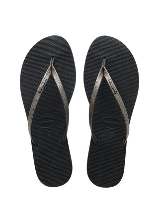 Havaianas You Shine New Graphite Damesschoenen Slippers