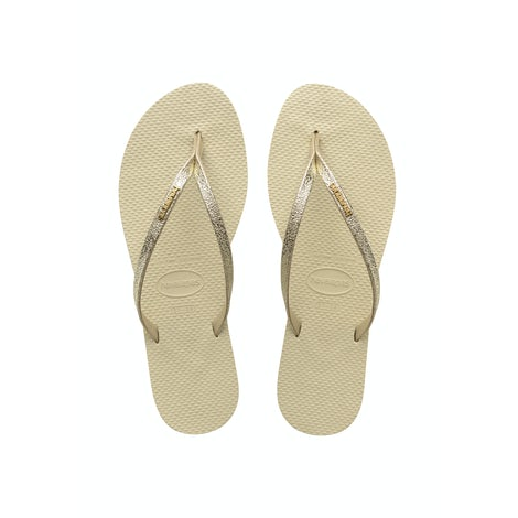 Havaianas You Shine Beige Slippers Slippers