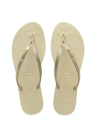 Havaianas You Shine Beige Damesschoenen Slippers