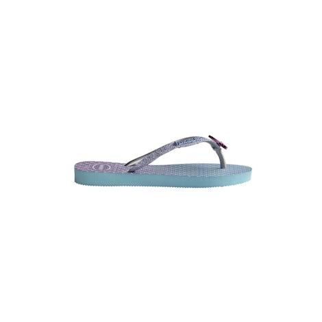 Havaianas Kids Slim Glitter II blue Sandalen en slippers Sandalen en slippers