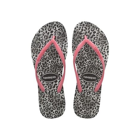 Havaianas Slim Leopard black Sandalen en slippers Sandalen en slippers