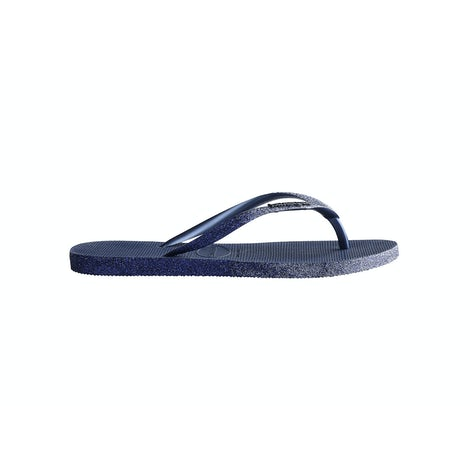 Havaianas Slim Sparkle II Navy Blue Slippers Slippers