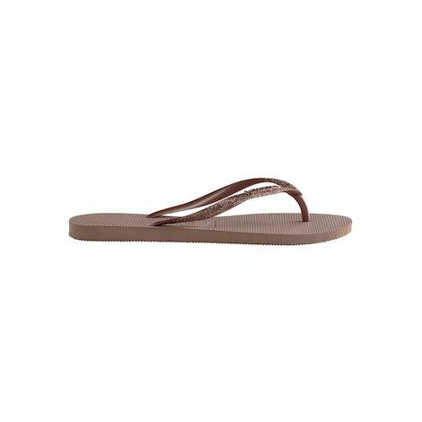 Havaianas Slim Glitter II crocus rose Sandalen en slippers Sandalen en slippers