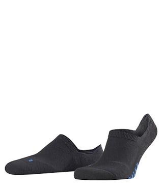 Falke Invisible Cool kick black Sokken