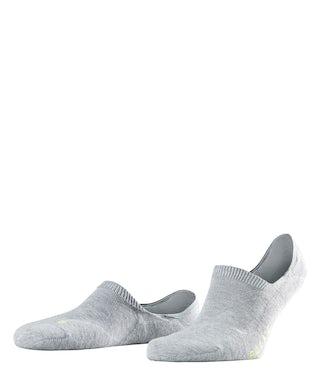 Falke Invisible Cool kick grey Sokken