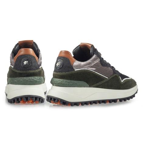 Floris van Bommel 85323/00 dark green Sneakers Sneakers