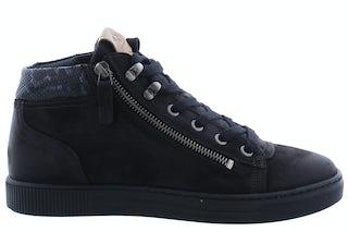 AQA A7455 black Damesschoenen Booties