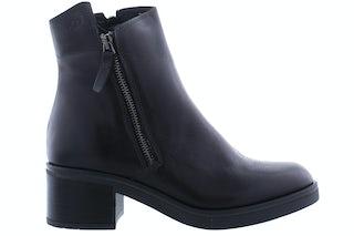 AQA A7580 black Damesschoenen Enkellaarsjes