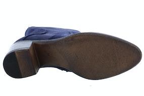 AQA A7590 dark blue Damesschoenen Enkellaarsjes