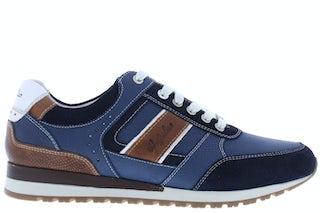 Australian Condor blue tan white Herenschoenen Sneakers