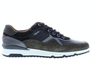 Australian Mazoni black green burg Herenschoenen Sneakers