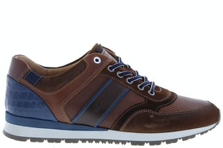 Australian Navarone dark tan blue Herenschoenen Sneakers
