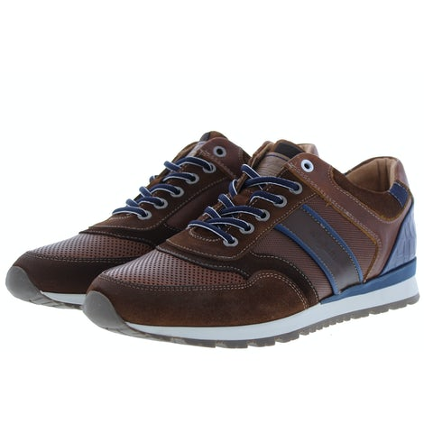 Australian Navarone dark tan blue Sneakers Sneakers
