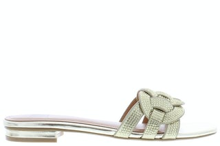 Bibi Lou 868Z00HG Gold Damesschoenen Slippers