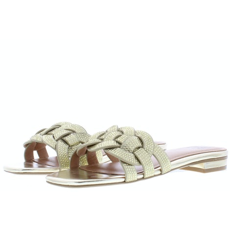 Bibi Lou 868Z00HG Gold Slippers Slippers