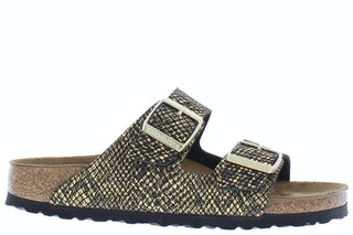 Birkenstock Arizona 1019372 shiny python black Damesschoenen Slippers