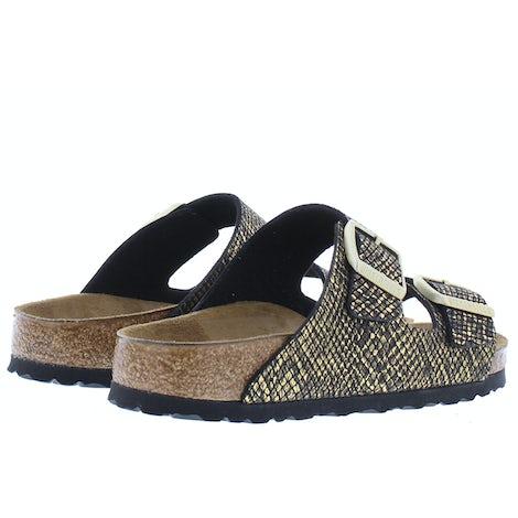 Birkenstock Arizona 1019372 shiny python black Slippers Slippers