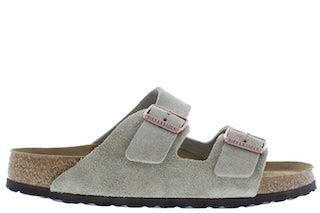 Birkenstock Arizona 951301 taupe Herenschoenen Slippers