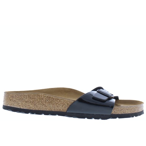Birkenstock Madrid 040303 schwarz lack Slippers Slippers