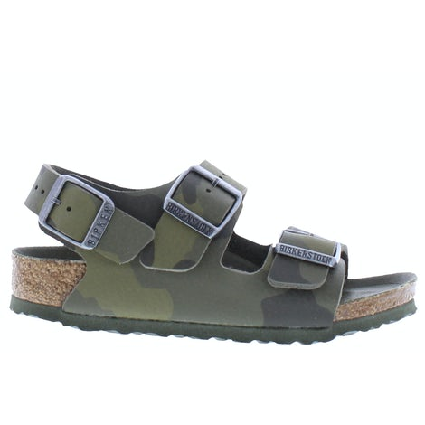 Birkenstock Milano desert soil 1014590 camouflage green Sandalen en slippers Sandalen en slippers