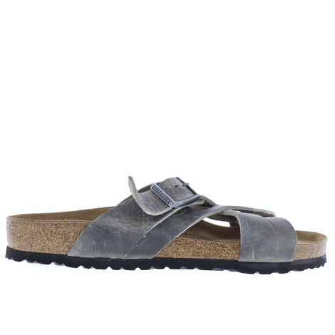 Birkenstock lugano 1019024 faded khaki Slippers Slippers