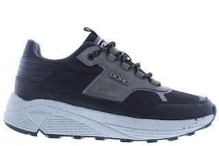 Bjorn Borg R1300 0903 blk dgry Herenschoenen Sneakers