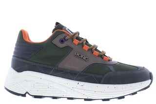 Bjorn Borg R1300 9640 olv orng Herenschoenen Sneakers