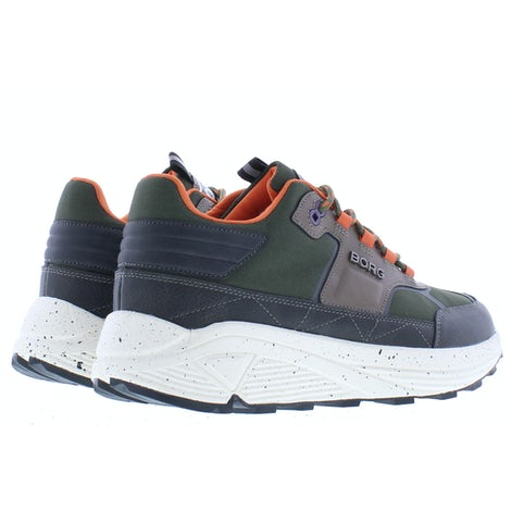 Bjorn Borg R1300 9640 olv orng Sneakers Sneakers