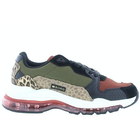 Bjorn Borg X500 SFR Burgundy dark gr Sneakers Sneakers