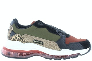 Bjorn Borg X500 SFR Burgundy dark gr Damesschoenen Sneakers