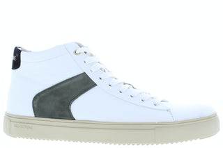 Blackstone VG08 white green Herenschoenen Sneakers