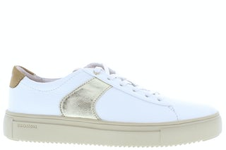 Blackstone VL57 white gold Damesschoenen Sneakers
