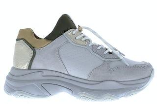 Bronx Baisley 66167 ice grey khaki Damesschoenen Sneakers
