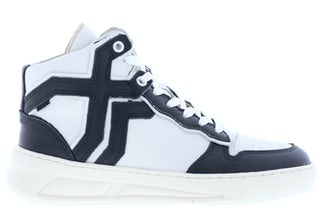 Bronx Old-cosmo 47325 black off white Damesschoenen Sneakers