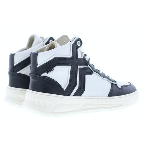 Bronx Old-cosmo 47325 black off white Sneakers Sneakers