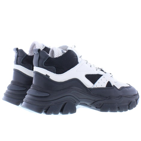 Bronx Tayke-over 47309 black off white Sneakers Sneakers