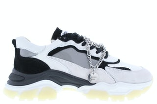 Bronx Tayke-over 66366 off white black Damesschoenen Sneakers