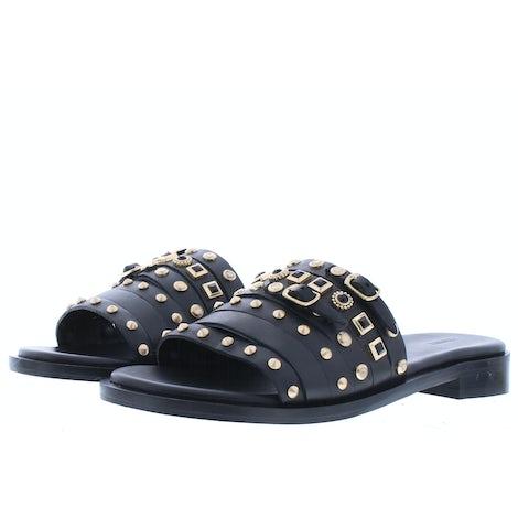 Bronx Thrill 84821 black Slippers Slippers