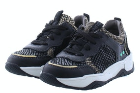 Bunnies 220770 589 black Meisjesschoenen Sneakers