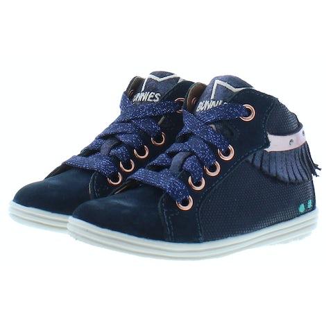 Bunnies 221621 129 dark blue Booties Booties