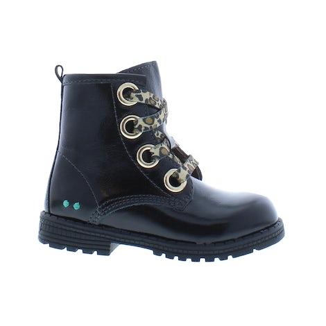 Bunnies 221782 889 black patent Booties Booties