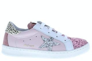 Clic 20305 A glitter rosa Meisjesschoenen Sneakers